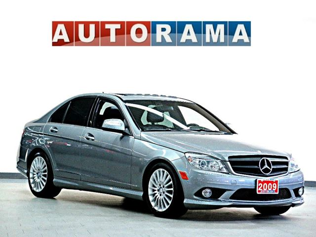 2009 mercedes benz c230 c230 leather sunroof awd grey for 2009 mercedes benz c230