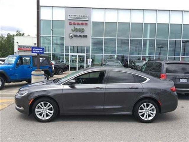 2015 Chrysler 200 Limited Gray >> 2015 Chrysler 200 Limited ALLOY HEATED SEATS BLUETOOTH