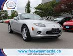2008 Mazda MX-5 Miata  GS CONVERTIBLE HARD TOP in Surrey, British Columbia