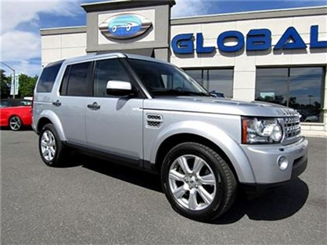 2013 LAND ROVER LR4 LUXURY EDITION AWD  5.0 L V8 NAV. PANOR. ROOF in Ottawa, Ontario