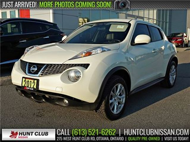 2012 NISSAN Juke SL AWD   Navi, Sunroof, Leather Htd Seats in Ottawa, Ontario
