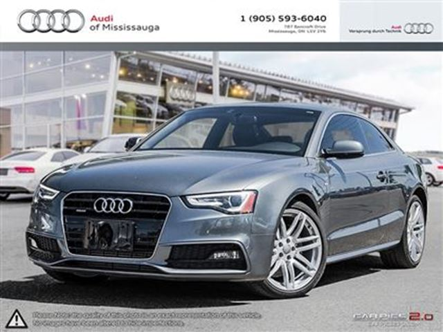 2015 audi a5 2 0t technik quattro w navigation grey audi of mississauga. Black Bedroom Furniture Sets. Home Design Ideas