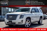 2015 Cadillac Escalade Premium 4x4 7 Seater Navi Sunroof DVD Backup Cam Bluetooth R-Start Vented seat 22Alloy Rims in Bolton, Ontario