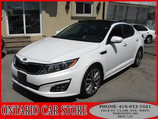 2015 kia optima sx turbo navigation top of the line toronto ontario used car for sale. Black Bedroom Furniture Sets. Home Design Ideas