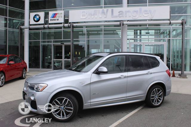 2016 bmw x3 xdrive28i premium enhanced and technology packages silver bmw langley. Black Bedroom Furniture Sets. Home Design Ideas