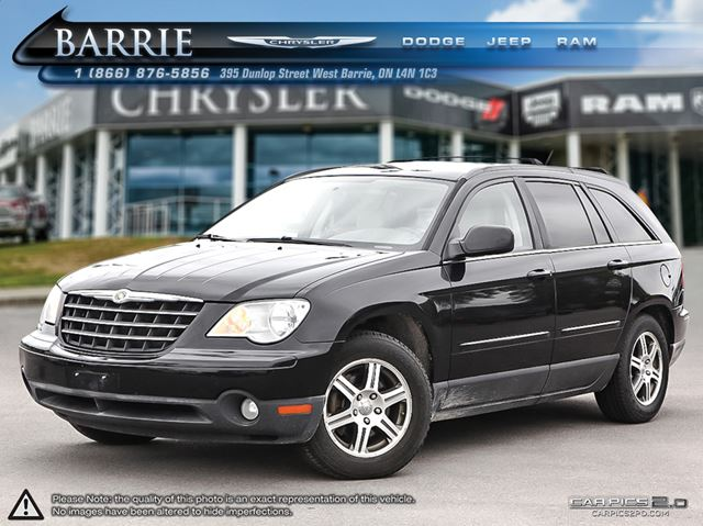 2008 chrysler pacifica touring black barrie chrysler. Black Bedroom Furniture Sets. Home Design Ideas