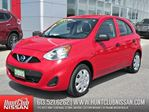 2015 Nissan Micra S A/T   Air Conditioning, Cruise Control in Ottawa, Ontario