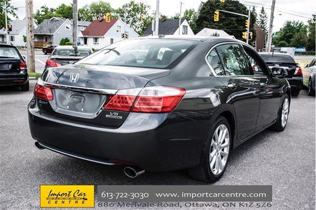 2013 honda accord touring ottawa ontario used car for sale 2510781. Black Bedroom Furniture Sets. Home Design Ideas