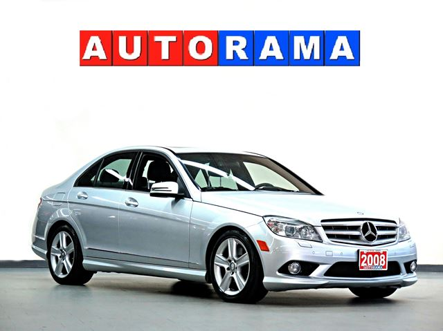 2008 Mercedes Benz C Class C300 Awd Leather Sunroof White