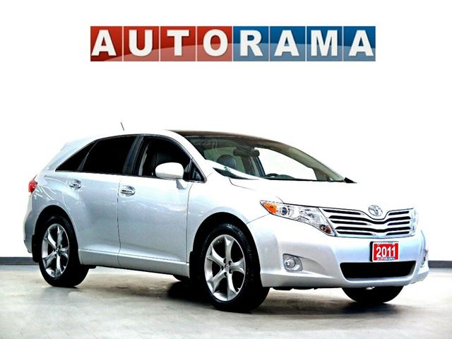 2011 toyota venza v6 awd leather sunroof silver autorama. Black Bedroom Furniture Sets. Home Design Ideas