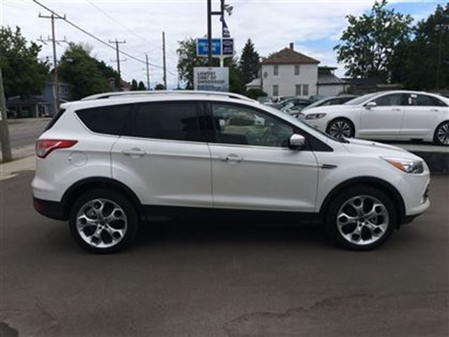 2015 ford escape titanium caledonia ontario used car for sale 2511574. Black Bedroom Furniture Sets. Home Design Ideas