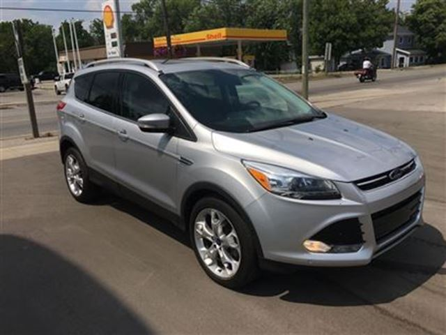2016 ford escape titanium caledonia ontario used car for sale 2511568. Black Bedroom Furniture Sets. Home Design Ideas