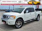2013 Nissan Titan SL 4x4 w/all leather,NAV,chrome wheels,running boards,tow package in Cambridge, Ontario