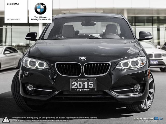 Used Cars In Newmarket >> 2015 BMW 228i xDrive Coupe - Newmarket, Ontario Used Car For Sale - 2511537