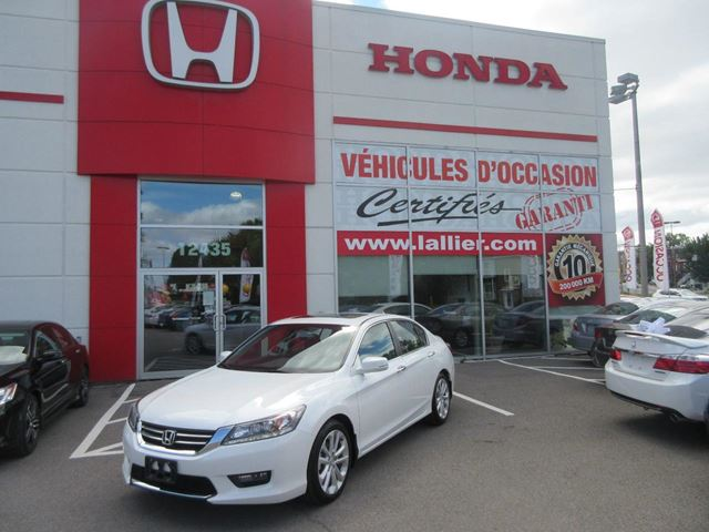 2015 Honda Accord Touring+CUIR+Navigation in Montreal, Quebec