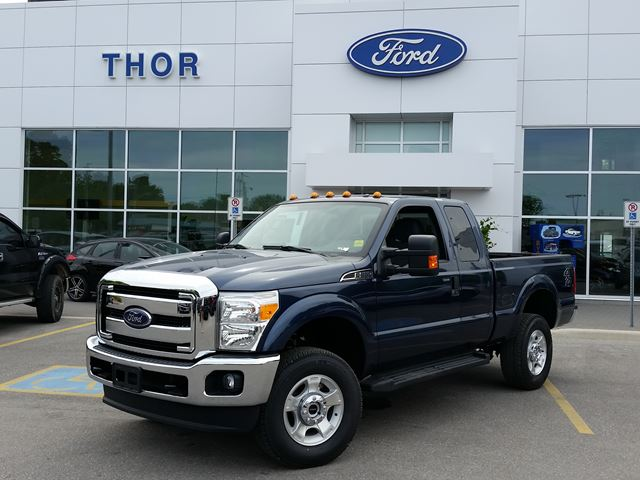 2016 ford super duty f 250 xlt blue thor motors new car. Black Bedroom Furniture Sets. Home Design Ideas