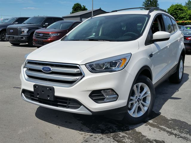 2017 ford escape se white taylor ford new car. Black Bedroom Furniture Sets. Home Design Ideas