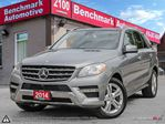 2014 Mercedes-Benz M-Class ML350 BLUETEC-AMG STYLING-DVD'S-PANORAMIC-ONT CAR in Scarborough, Ontario