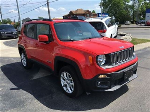 2015 jeep renegade north niagara falls ontario used car. Black Bedroom Furniture Sets. Home Design Ideas