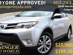 2013 Toyota RAV4 AWD Limited Navigation and JBL Package in Calgary, Alberta