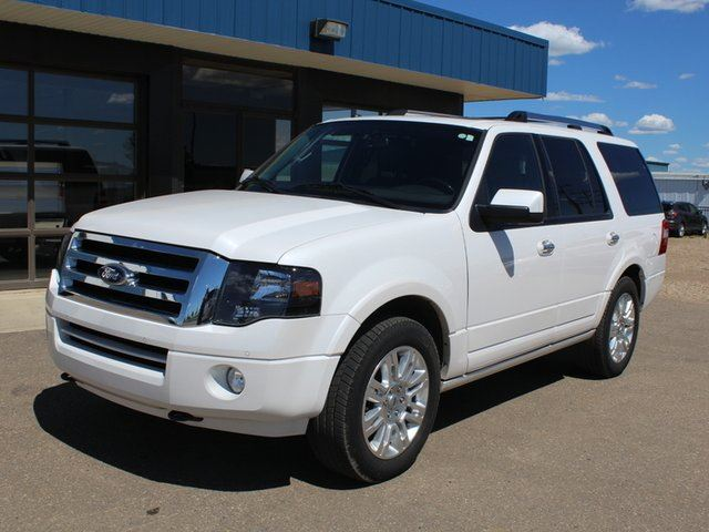 2014 FORD EXPEDITION Limited 4X4 5.4L Navigation Moonroof in Vegreville, Alberta