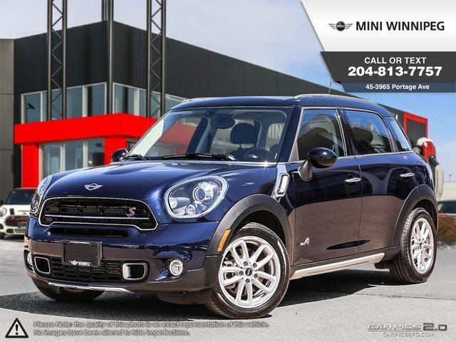 2015 MINI COOPER Countryman S in Winnipeg, Manitoba