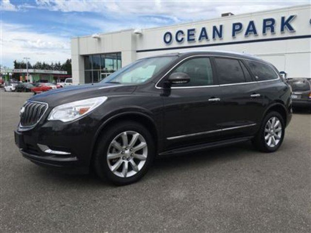 2015 buick enclave surrey british columbia used car for sale. Black Bedroom Furniture Sets. Home Design Ideas