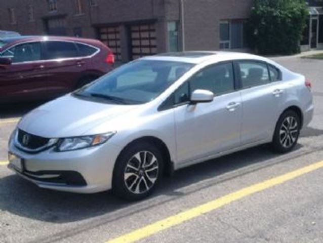 2015 honda civic ex mississauga ontario used car for sale 2515266. Black Bedroom Furniture Sets. Home Design Ideas