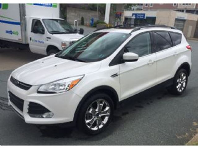 2015 ford escape 4wd 2 0l se leather navigation white lease busters. Black Bedroom Furniture Sets. Home Design Ideas