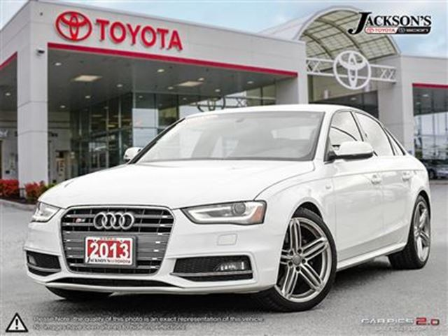 2013 audi s4 3 0t premium s tronic barrie ontario. Black Bedroom Furniture Sets. Home Design Ideas