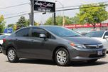 2012 Honda Civic ONLY 74K! **CLEAN CARPROOF** LX MODEL *PWR OPTIONS in Scarborough, Ontario