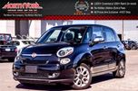 2015 Fiat 500L Lounge CleanCarProof PanoSunroof Nav RearCam Htd Front Seats Bluetooth 17Alloys in Thornhill, Ontario