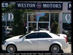 2007 Cadillac CTS 3.6L* RARE SPORT PKG* PEARL WHITE* SUNROOF* LEATHER* CHROME WHEELS* in Toronto, Ontario