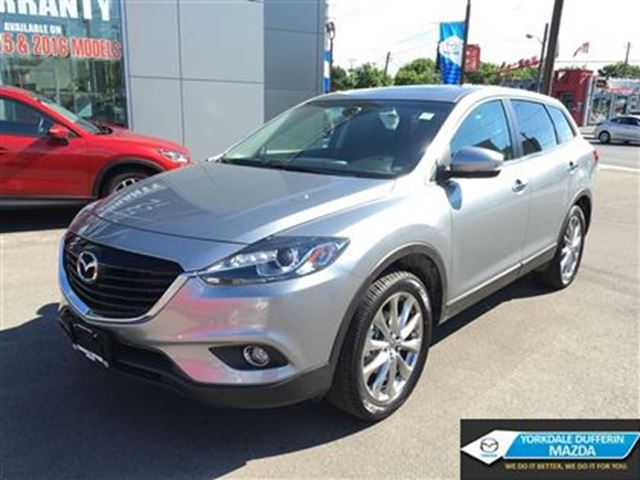 2015 mazda cx 9 gt model 7 seater fully loaded toronto ontario used car for sale 2520376. Black Bedroom Furniture Sets. Home Design Ideas