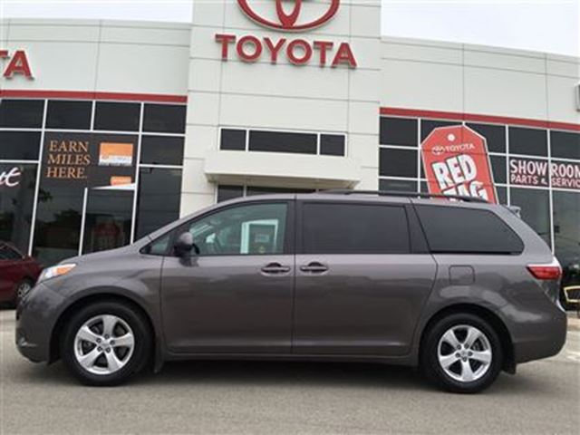 2016 toyota sienna le 8 passenger grey burlington toyota. Black Bedroom Furniture Sets. Home Design Ideas
