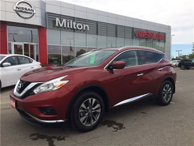 2016 nissan murano sl leather awd 10 000km milton ontario used car for sale 2519964. Black Bedroom Furniture Sets. Home Design Ideas