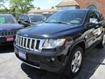 2013 Jeep Grand Cherokee Overland Loaded Accident Free in Brampton, Ontario
