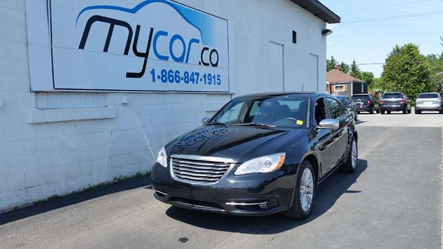 2012 chrysler 200 limited richmond ontario used car for. Black Bedroom Furniture Sets. Home Design Ideas