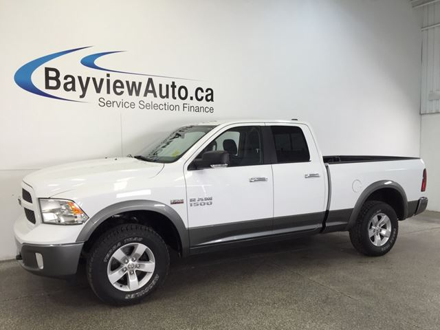 2013 dodge ram 1500 outdoorsman hemi quad cab 6 39 box tow haul white bayview auto sales. Black Bedroom Furniture Sets. Home Design Ideas