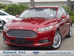 2016 Ford Fusion SE AWD 2.0L EcoBoost w Nav, Leather, Roof in Surrey, British Columbia