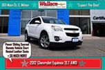 2012 Chevrolet Equinox 2LT AWD/SUNROOF/REMOTE START/HEATED LEATHER SEATS/ in Milton, Ontario
