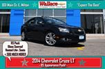 2014 Chevrolet Cruze RS/2LT/NO ACCIDENTS/ROOF/HEATED LEATHER/ in Milton, Ontario