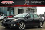 2010 Mazda MAZDA6 GT Tech Pkg Sunroof Nav Bluetooth Leather Seats Bose Audio Clean CarProof in Thornhill, Ontario