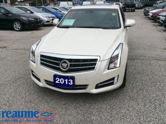 2013 Cadillac Ats Premium White Reaume Chevrolet Buick