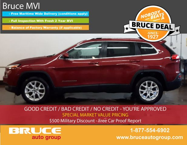 2015 JEEP CHEROKEE North 3.2L 6 CYL AUTOMATIC 4WD in Middleton, Nova Scotia