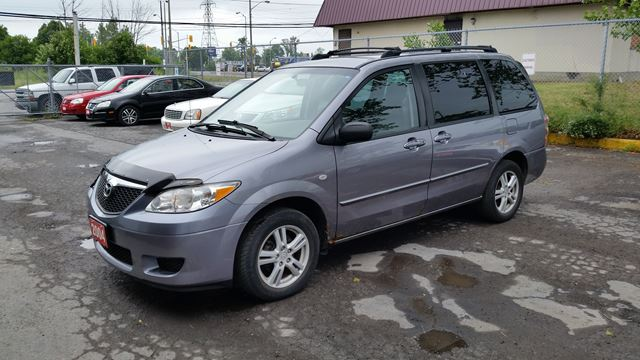 2004 mazda mpv wagon gx extra clean o b o grey triole. Black Bedroom Furniture Sets. Home Design Ideas