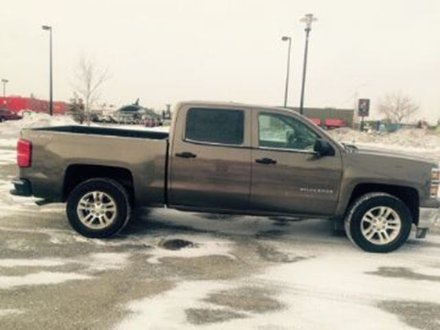 2014 CHEVROLET Silverado 1500 4WD Extended Cab Standard Box LT w/1LT in Mississauga, Ontario