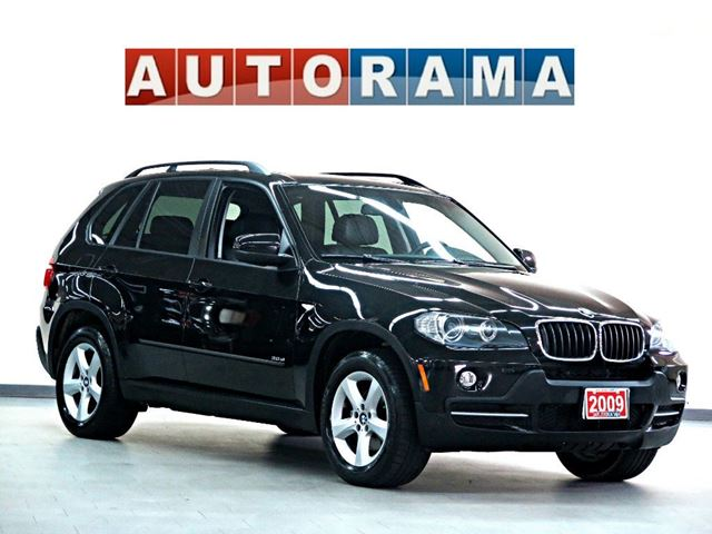 2009 BMW X5 30i NAVIGATION LEATHER SUNROOF BACK UP CAM DVD 7 in North York, Ontario