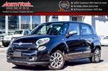 2015 Fiat 500L Lounge LOADED Pano Sunroof Nav Backup Cam Bluetooth Leather Seats SAT Radio in Thornhill, Ontario