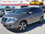 2014 Nissan Pathfinder Platinum 4WD w/all leather,NAV,rear cam,climate control,heated/cooled seats in Cambridge, Ontario